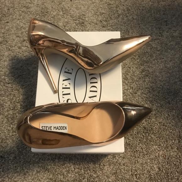 a36d623177a Steve Madden Shoes - Steve Madden Pump - Daisie - Rose Gold